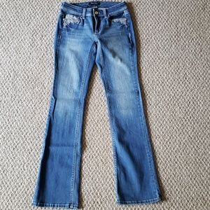 New WHBM Size 00 S Blue Jeans